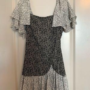 Polka Dot Mini Dress